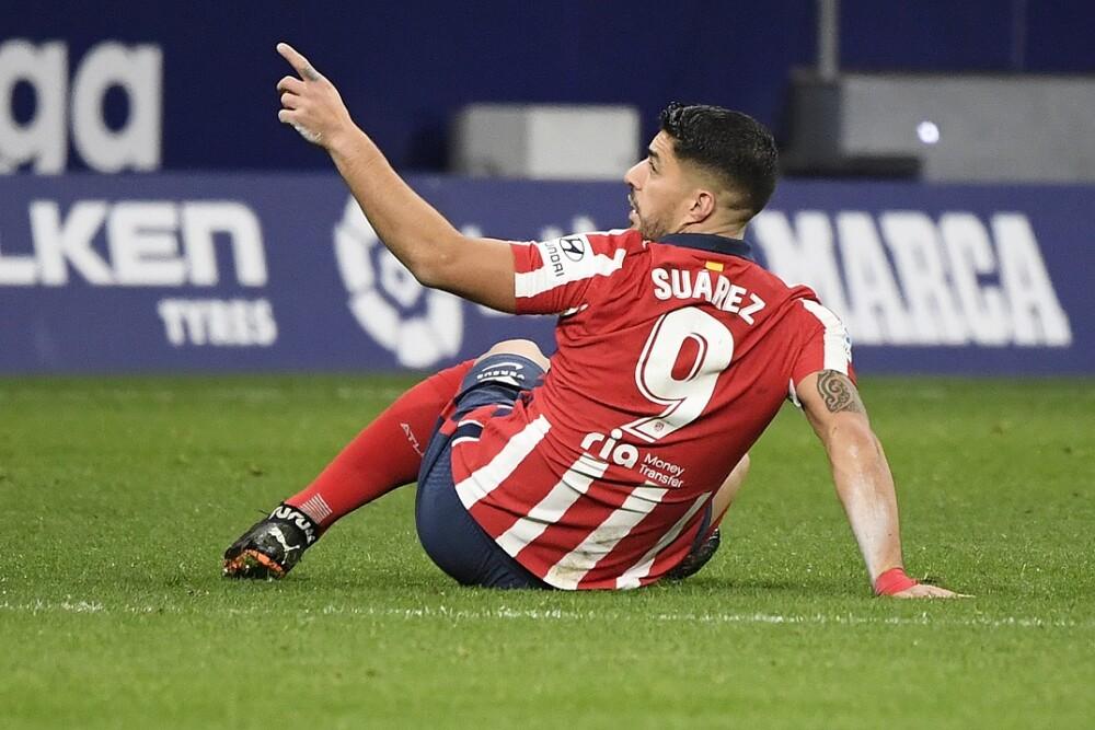 Luis Suárez. Foto: AFP