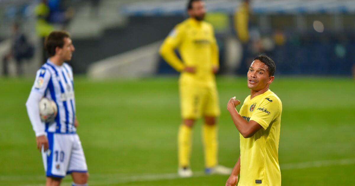 Villarreal visitará al Tenerife con Carlos Bacca en su titular, en la Copa del Rey