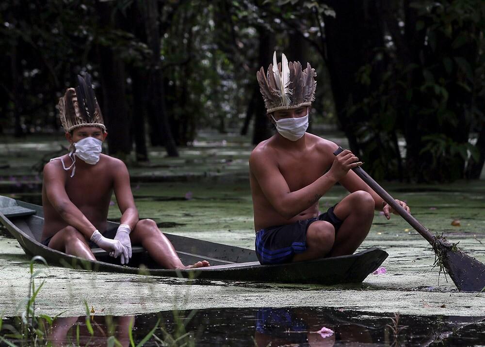363102_Coronavirus en el Amazonas / Foto: AFP - Referencia