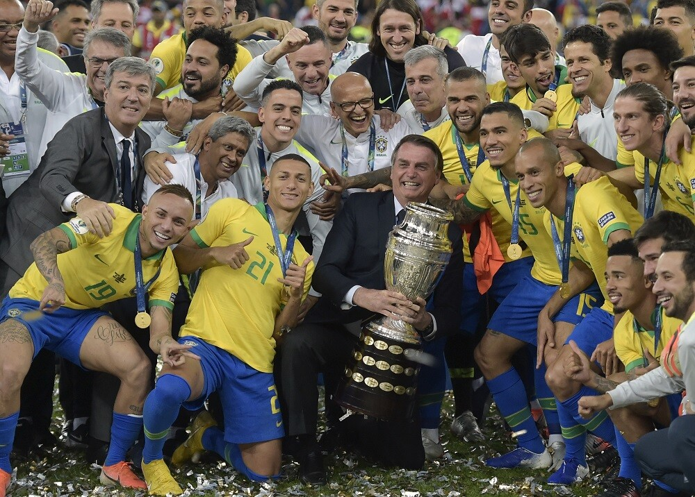 338169_BLU Radio. Brasil triunfó en la Copa América 2019 // Foto: AFP