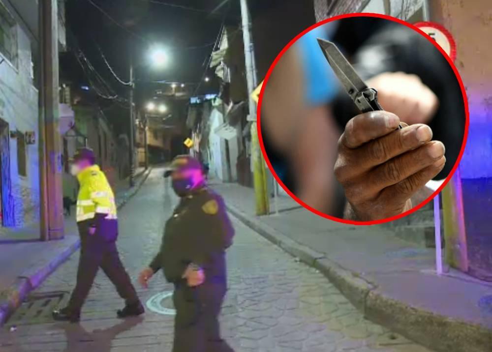 Riña con arma blanca en el barrio Egipto, centro de Bogotá.jpeg