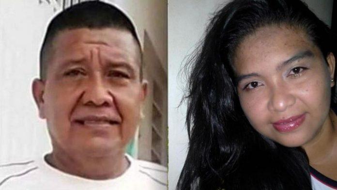 El hombre mató a su hija, quien además era su expareja