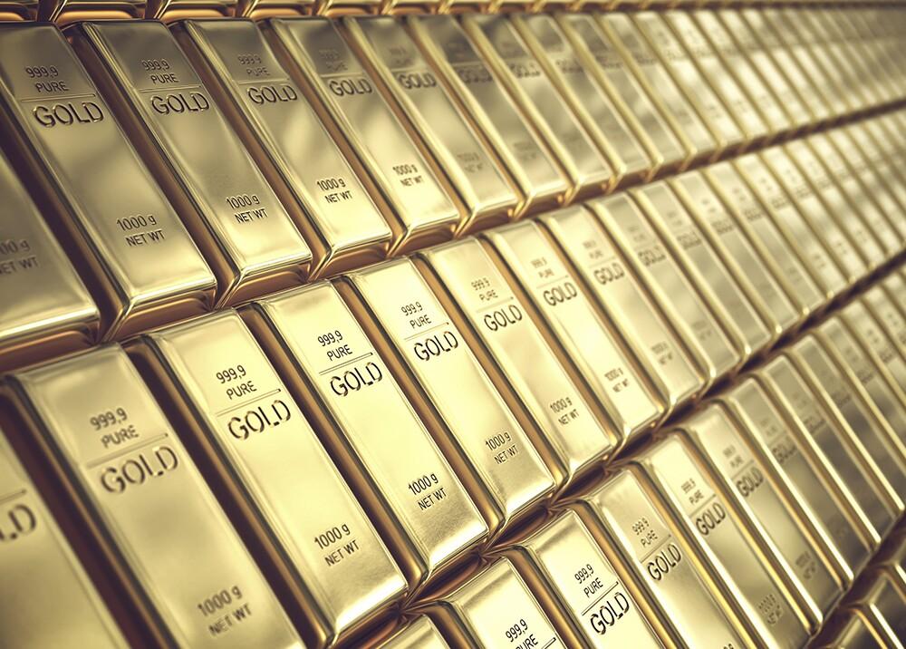 Lingotes de oro / Foto: AFP