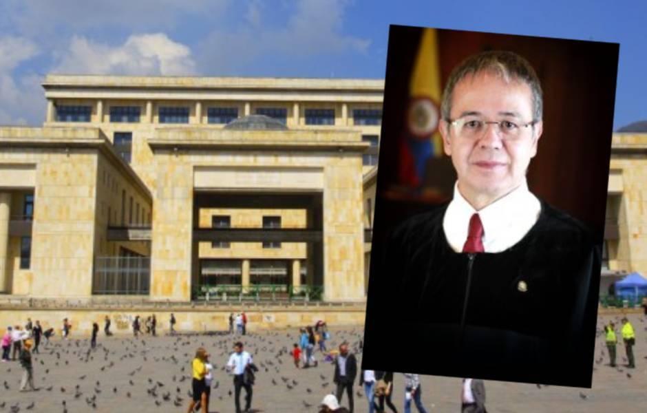 Magistrado Luis Hernández - Palacio de Justicia