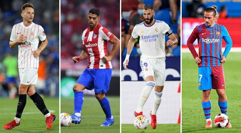 Sevilla-Atlético-Real Madrid-Barcelona
