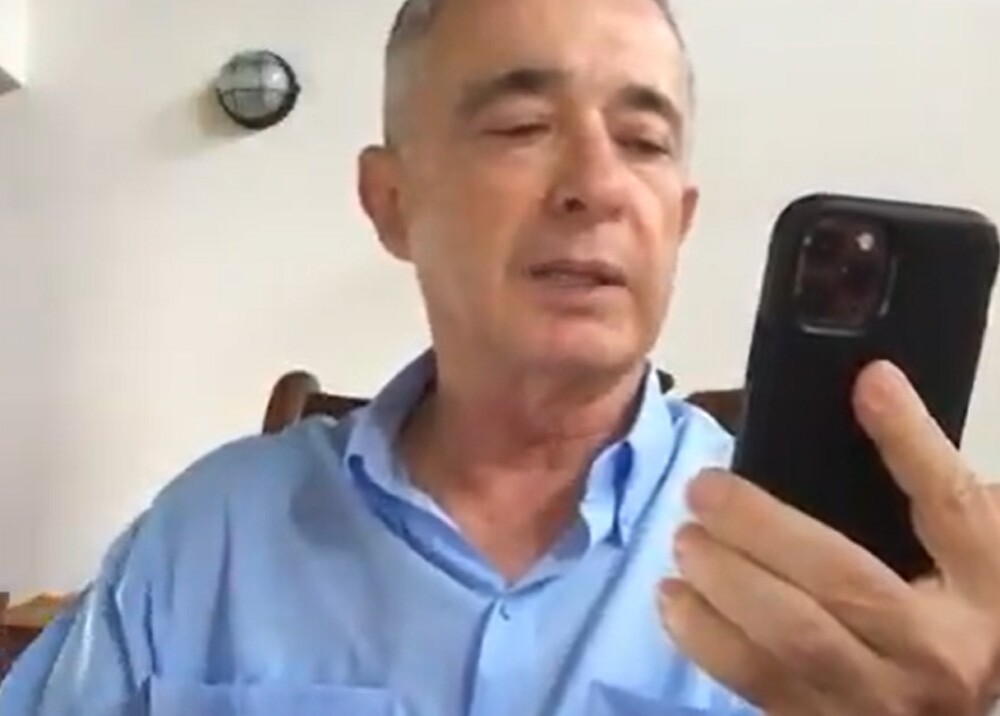 Álvaro Uribe. Foto Twitter