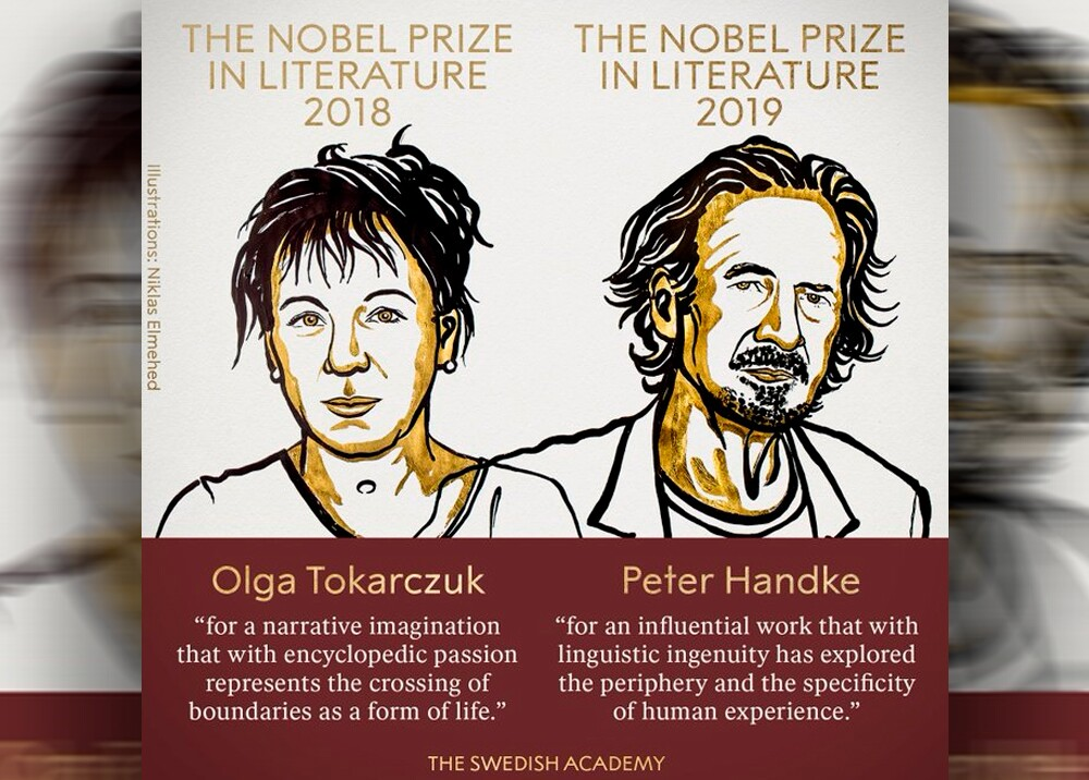 345533_Premio Nobel de Literatura 2018 -2019 // Foto: Premio Nobel