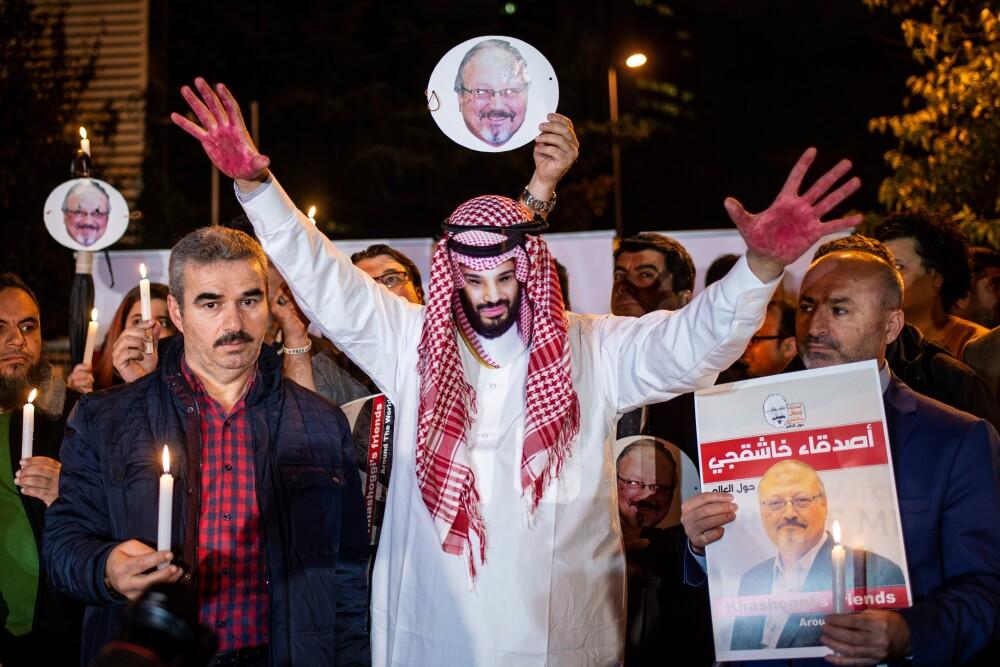318356_Blu Radio / Jamal Khashoggi / Foto: AFP