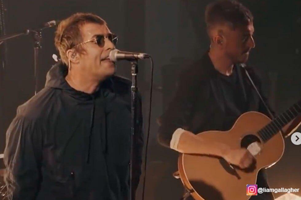 Liam Gallagher, vocalista