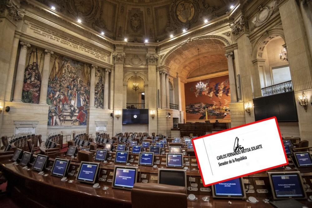 Con firma falsificada fue radicada ponencia de reforma a la salud en el Congreso. Foto AFP - BLU Radio