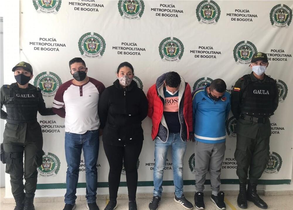 372921_Capturan a banda criminal // Foto: Suministrada