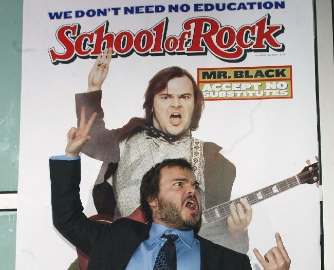 escuela del rock jack black
