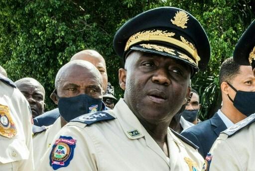 Jefe policía de Haití Leon Charles