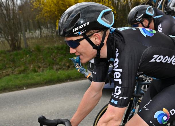 Soren Kragh Andersen se retiró del Tour de Francia.