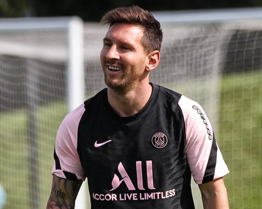 Lionel Messi, jugador del PSG. @PSG_inside.jpg