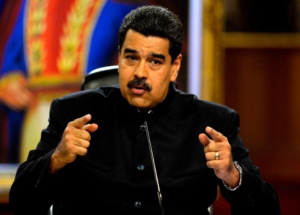 288221_Nicolás Maduro . Foto: AFP