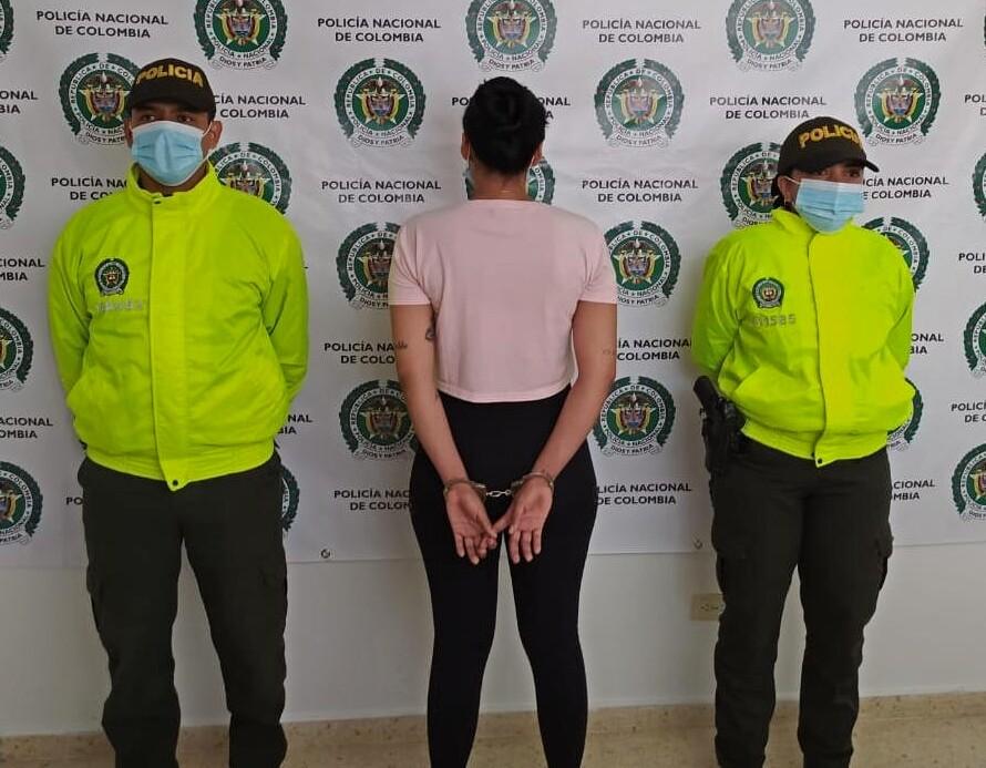 mujer capturada en Antioquia por explotación infantil.jpeg