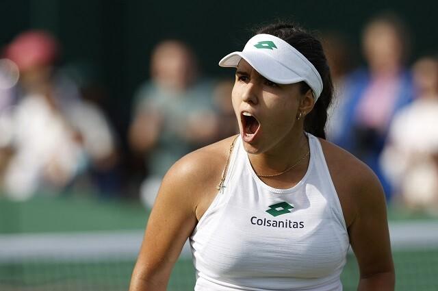 María Camila Osorio avanzó a segunda ronda de Wimbledon