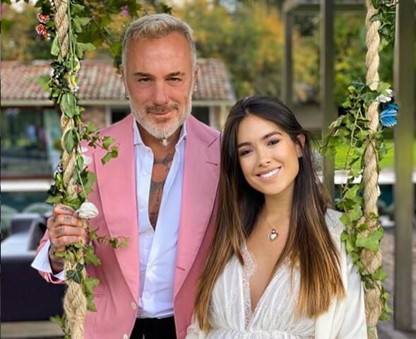 Nació la hija de Sharon Foncesa y Gianluca Vacchi.jpg