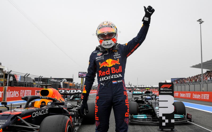 Max Verstappen saldrá primero en el GP de Francia de Fórmula 1.