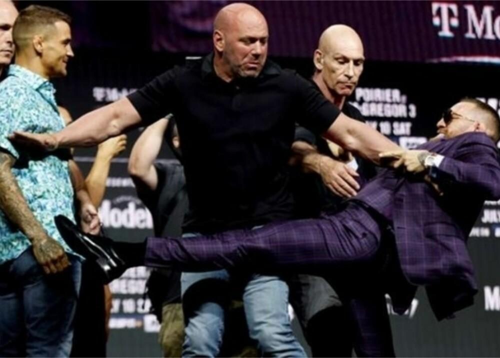Conor McGregor Foto captura de video.