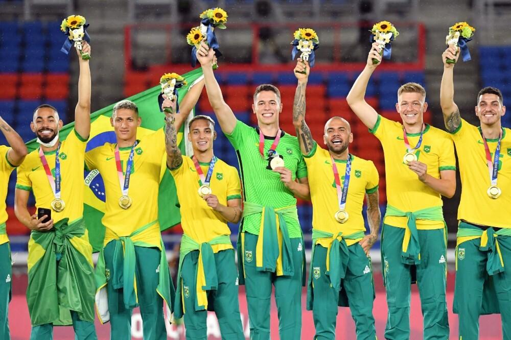 Selección Brasil en Juegos Olímpicos 2020 Foto AFP.