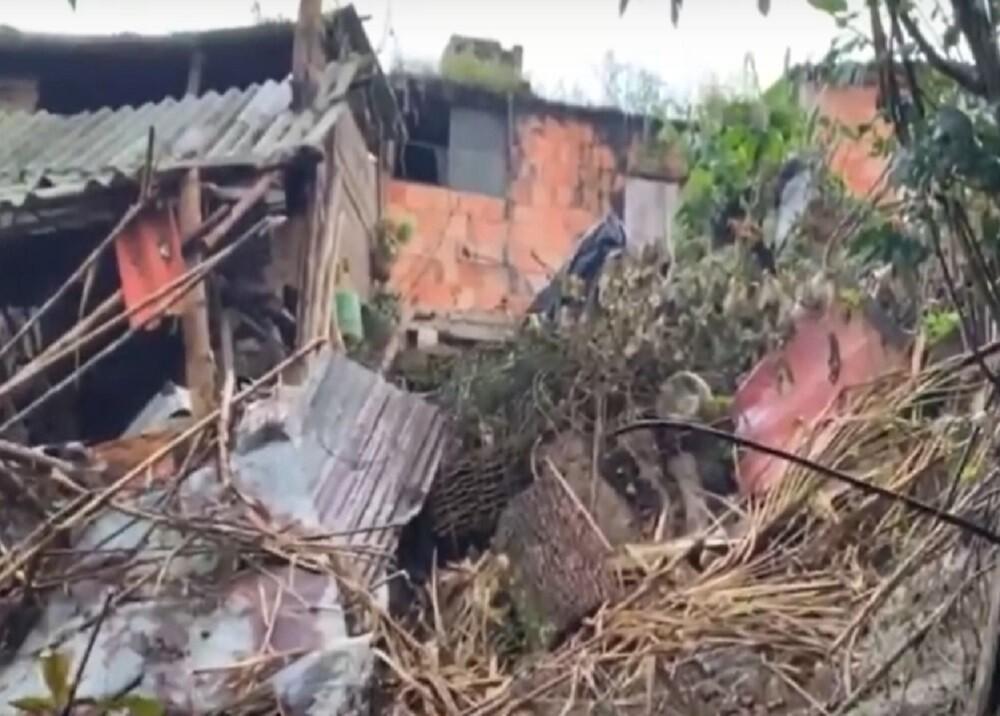 Emergencia en Suaita porque 13 casas están a punto de colapsar