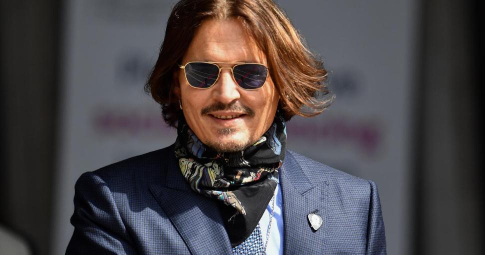 Fotografía del actor Johnny Depp