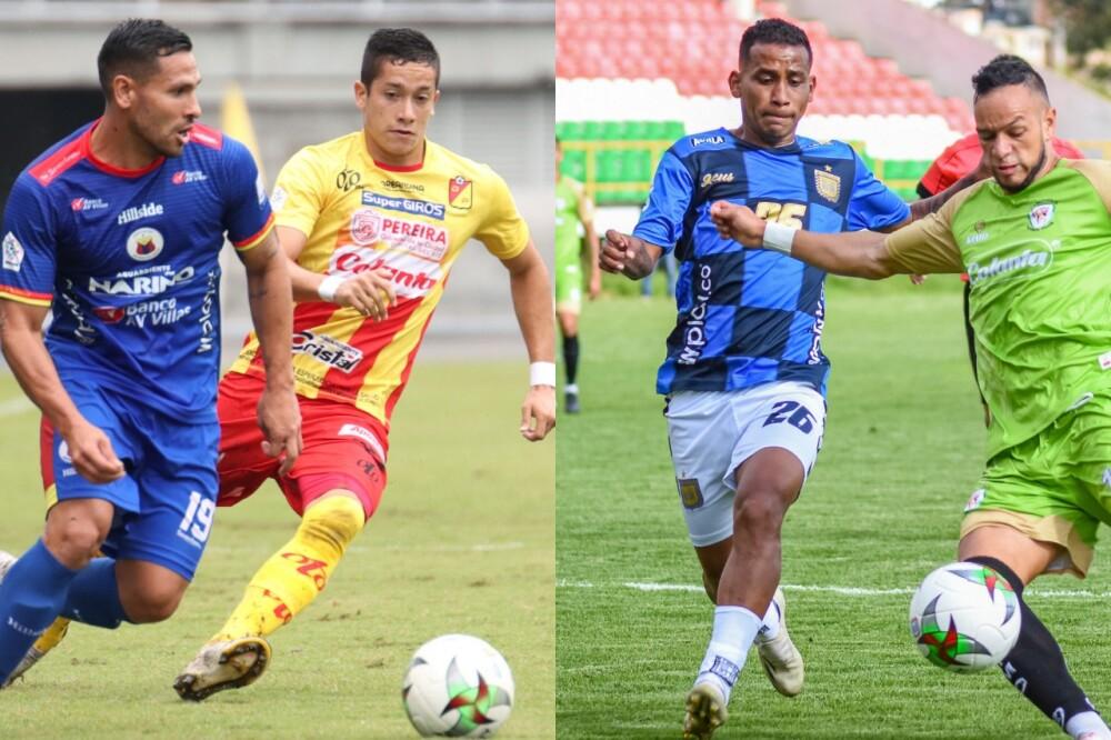 Deportivo Pereira y Boyacá Chicó