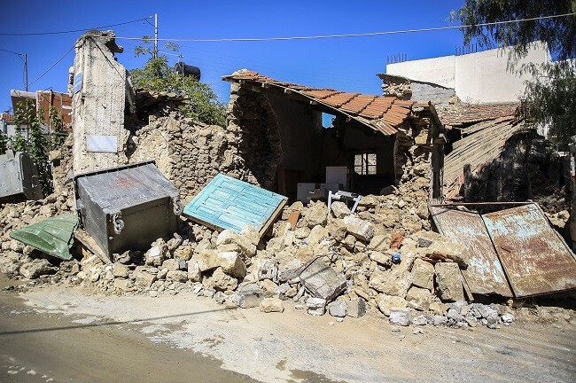 terremoto en grecia