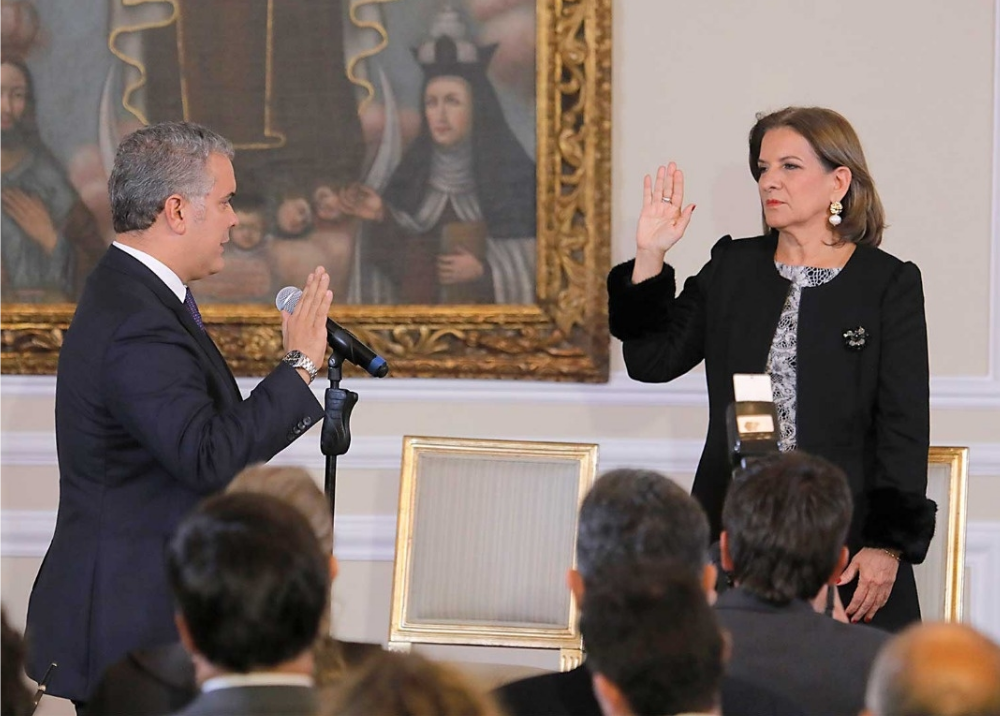 336099_BLU Radio // Posesión Margarita Cabello como MinJusticia // Presidencia