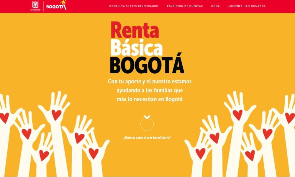 Portal Bogotá Solidaria