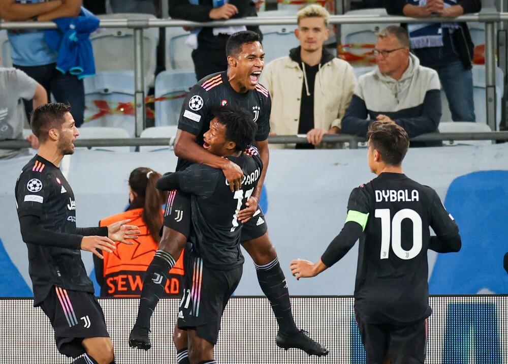 Juventus goleó al Malmo Foto AFP.jpg