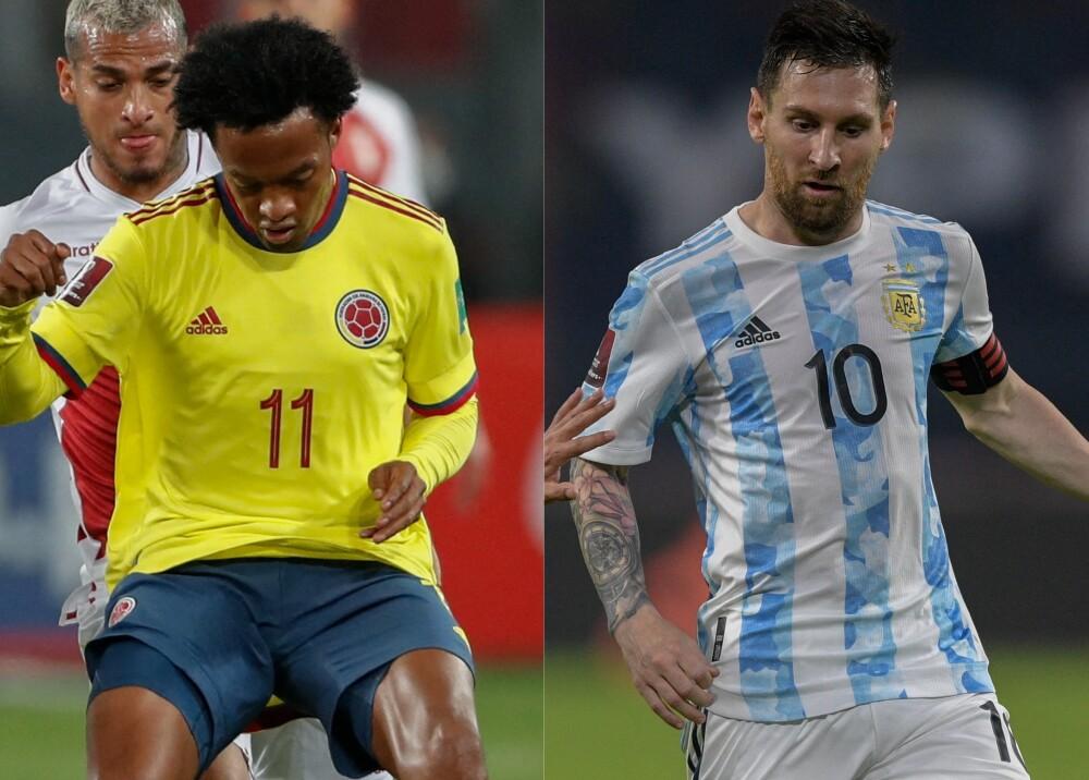Selección de Colombia y Argentina Foto AFP (2).jpg
