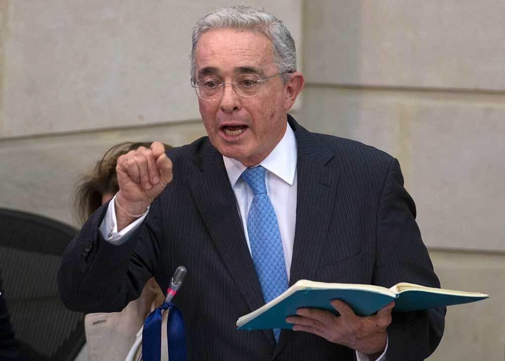 336687_Blu Radio // Álvaro Uribe // Foto: AFP