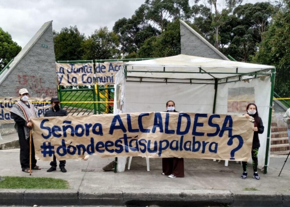 359800_Bogotanos se oponen a creación de albergues / Foto: Suministrada