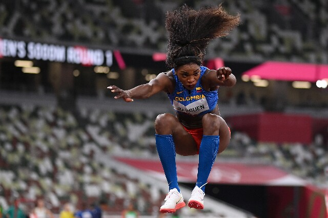 Caterine Ibargüen, en los Juegos Olímpicos de Tokio 2020