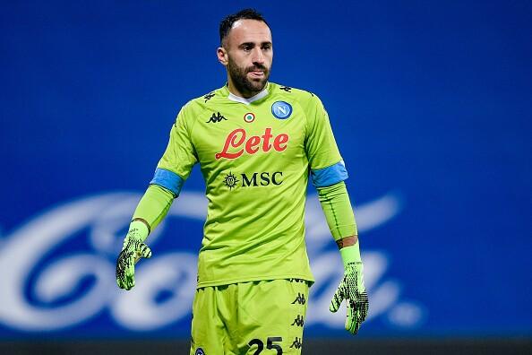 David Ospina, jugador de Napoli