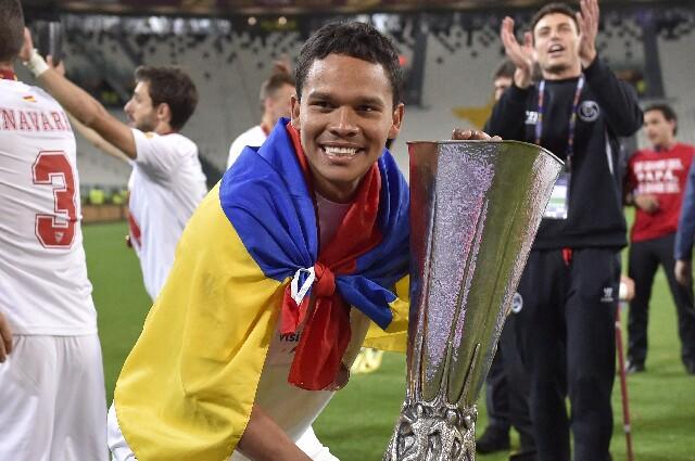 Carlos Bacca Europa League