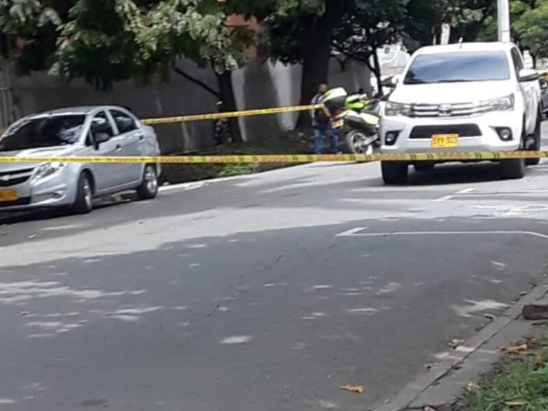 ataque sicarial en el centro de Medellín