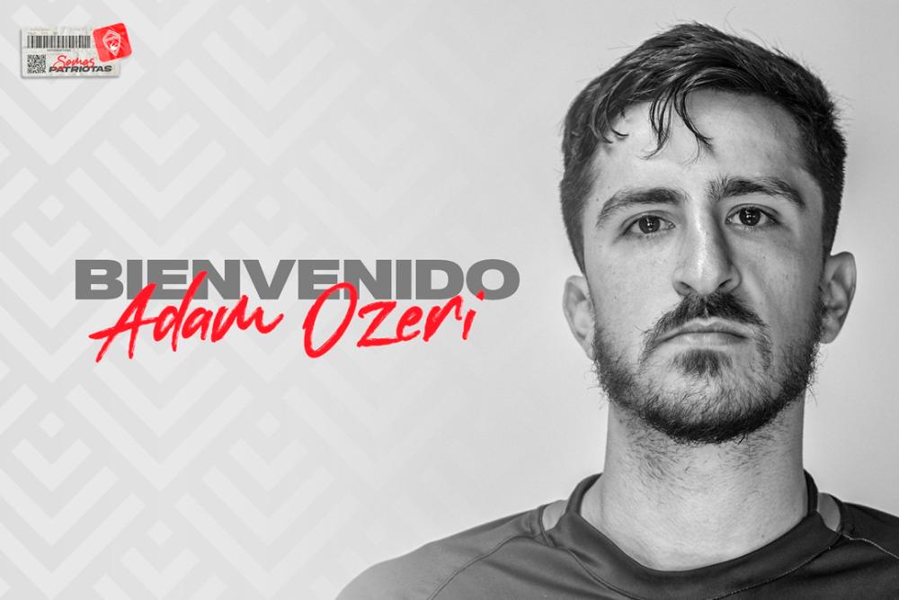 Adam Ozeri, nuevo jugador de Patriotas. Patriotas Oficial.png