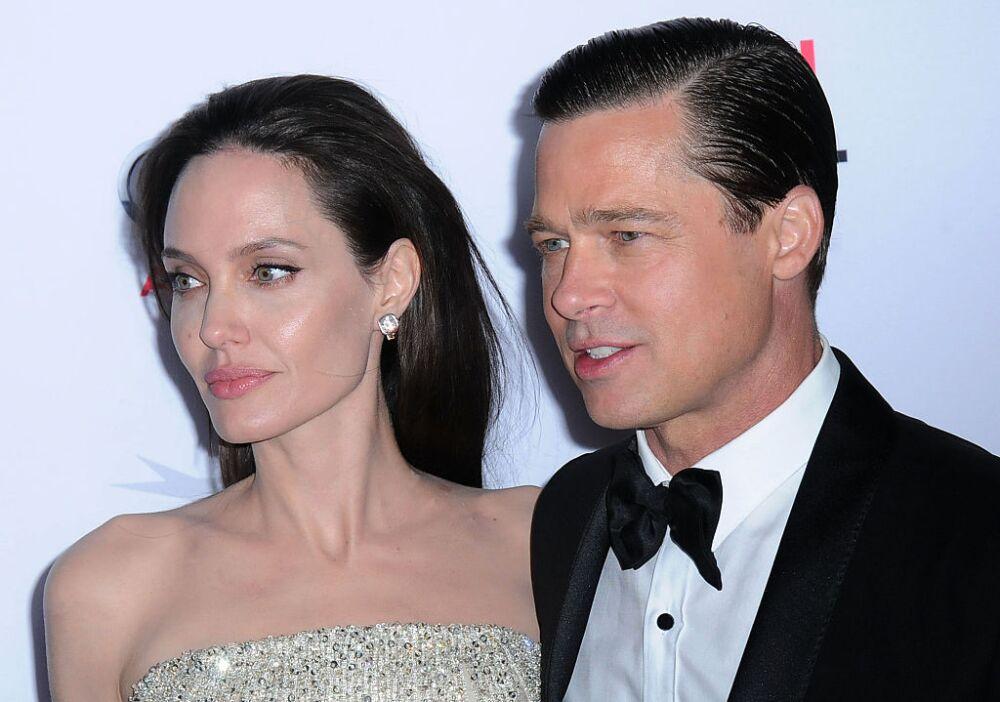 Angelina Jolie y Brad Pitt, exesposos.