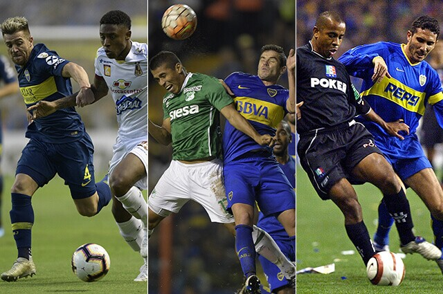 332497_Tolima, Cali y Once Caldas en sus enfrentamientos contra Boca Juniors