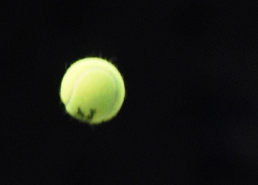 Pelota de tenis. Foto: AFP