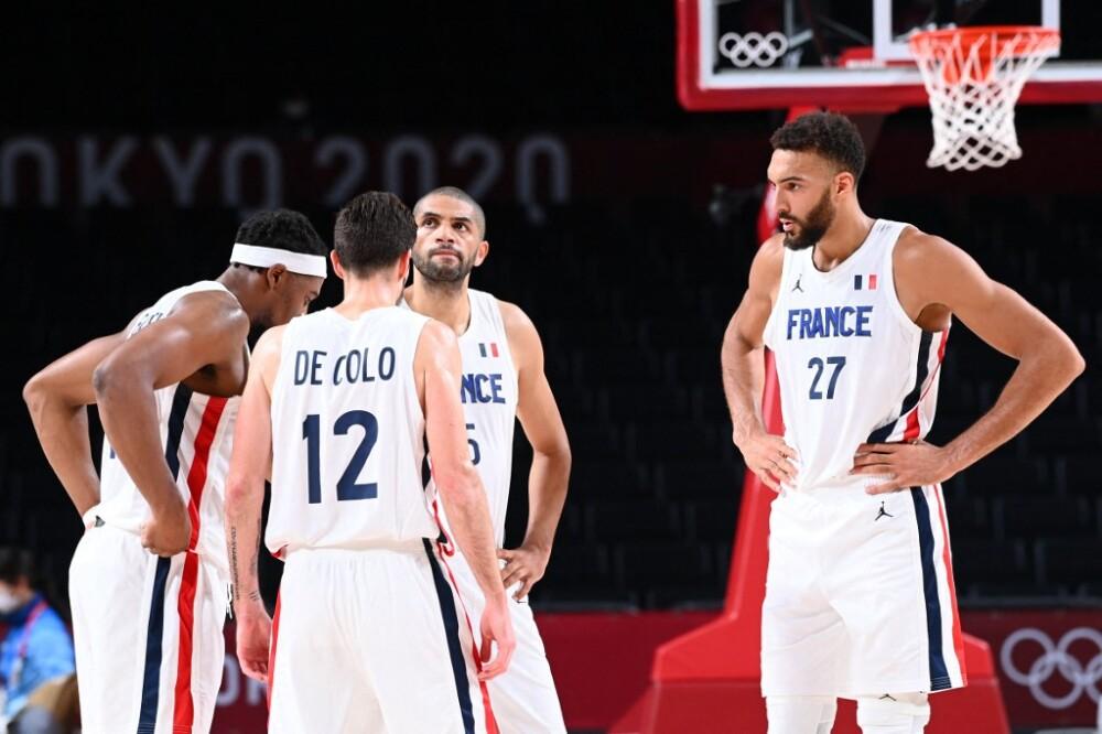 Equipo francés de baloncesto.
