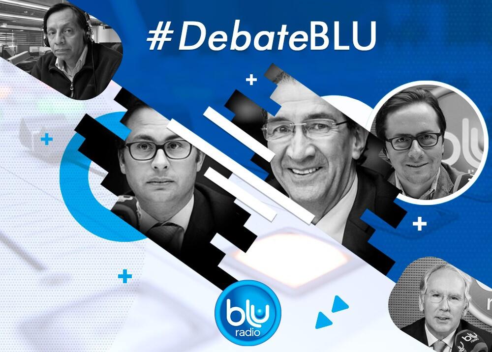 317376_Blu Radio // Debate BLU // Foto: Blu Radio
