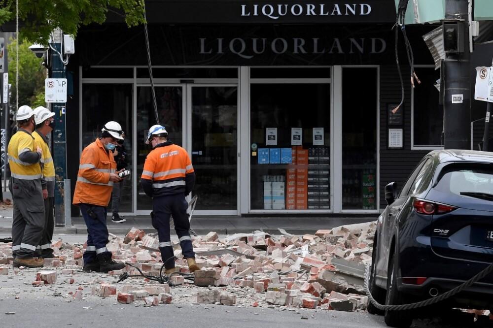 Terremoto en Australia