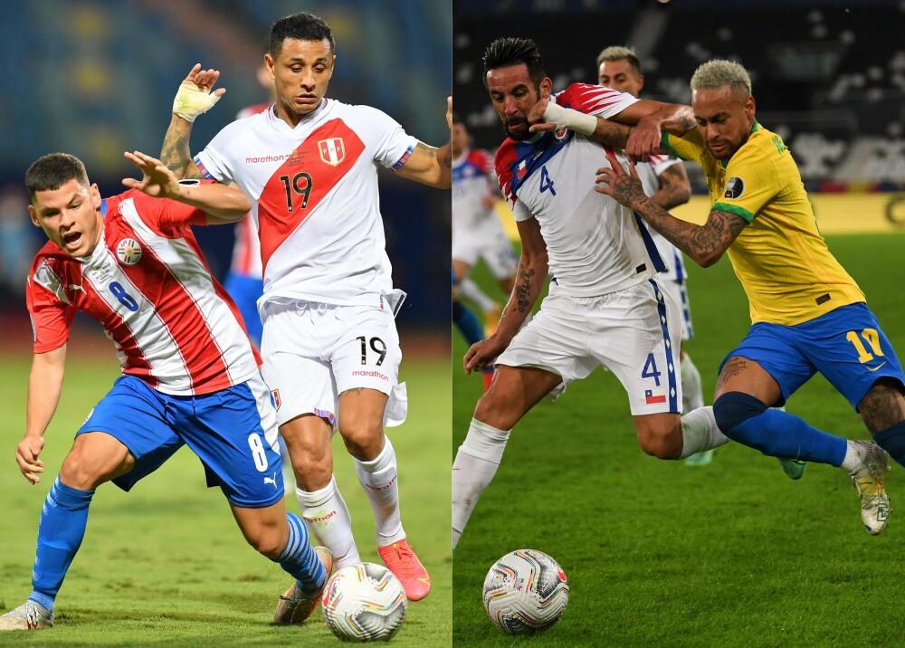 Perú vs Paraguay y Brasil vs Chile Foto AFP.jpg