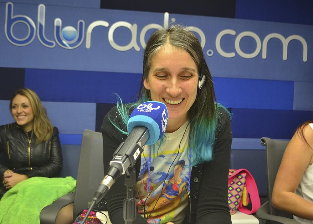 127909_Andrea Echeverry. Foto: Blu Radio