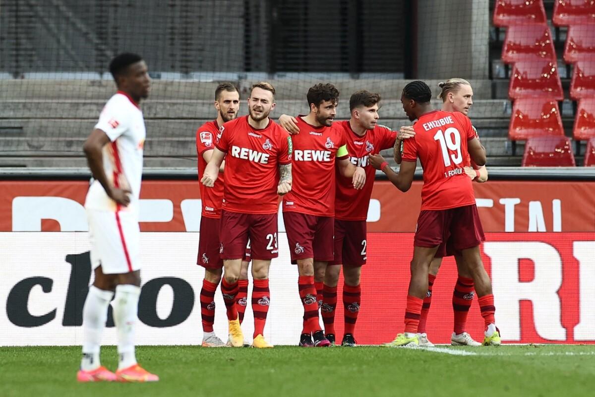 El Colonia sorprende al Leipzig (2-1); el Bayern Múnich acaricia el título
